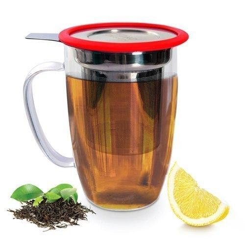 Mug Avec Infuseur : mug avec infuseur tastea 450ml rouge yoko design kookit ~ Teatrodelosmanantiales.com Idées de Décoration