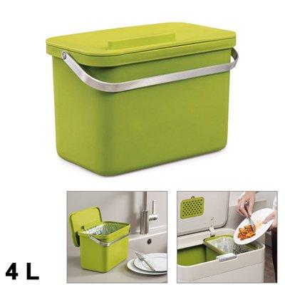 bac d chets organiques totem 4l joseph joseph kookit. Black Bedroom Furniture Sets. Home Design Ideas