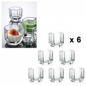 Verrine, 9 cl, 6 pieces, Honey