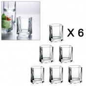 Verrine, 5 cl, 6 pieces, Kube
