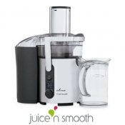 Centrifugeuse digitale inox Juice n'smooth, 2 disques