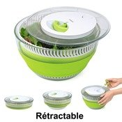 Essoreuse � salade r�tractable Smart Kitchen, 4,5 L