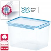 Bo�te herm�tique rectangle Clip and Close 3D, 10,8 L