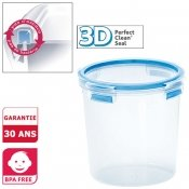 Bo�te herm�tique ronde Clip and Close 3D, 2 L