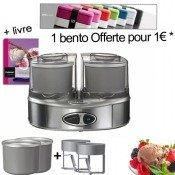 Machine � glace Duo cream + 1� = 1 Bento Box OFFERTE