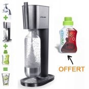 Sodastream, machine a soda, gris et sirop cola, 500 ml
