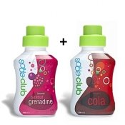 Sodastream, sirop grenadine, sirop cola, 500 ml