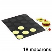 Tapis grands macarons silicone