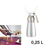 Siphon � cr�me chantilly et mousses  0,25L