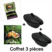 Coffret papillotes gourmandes silicone 3 pièces