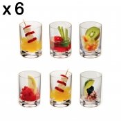 Verrine, 7 cl, haute, 6 pieces