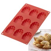 Plaque silicone 9 madeleines Gourmet