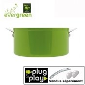 Casserole c�ramique Evergreen Plug and Play 16 cm