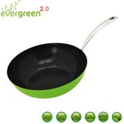 Wok c�ramique Evergreen 30 cm