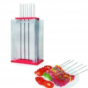 Pic brochette, inox, 12 pieces