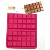 Moule silicone 2 tablettes chocolat