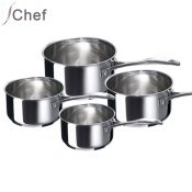 Casseroles Chef inox x4