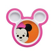 Assiette enfant 3 compartiments Minnie