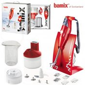 Coffret Bamix Box SwissLine rouge
