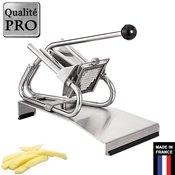 Coupe frites inox professionnel sur socle de table