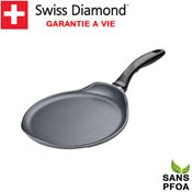 Crêpière 24 cm induction Swiss Diamond