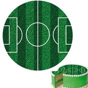 Disque en sucre Football 16cm