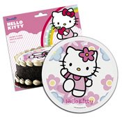 Disque en sucre Hello Kitty 16cm