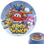 Disque en sucre Super Wings 20cm