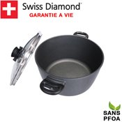 Faitout 28 cm induction Swiss Diamond