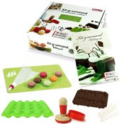 Kit gourmand pour cake pops - macarons - biscuits et sucettes