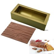 Kit moule Magic bûche Wood