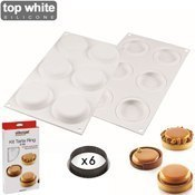 Kit moule tarte Ring 8cm