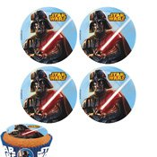 Mini disque azyme Star Wars x12