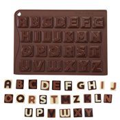 Moule 26 chocolats Choco-ice Lettres