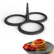 Moule 3 blinis et pancakes silicone
