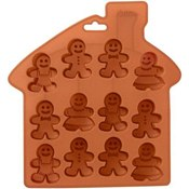 Moule silicone 12 Gingerbread