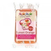 Pâte d'amande orange Sunset 250g