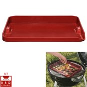 Plancha barbecue rouge