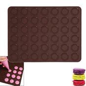 Plaque silicone 42 macarons