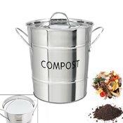 Poubelle rangement kookit for Seau compost cuisine