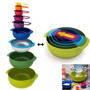 Set de 9 bols emboitables Nest 9 Plus
