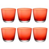 Verre Modus Domus Pebble 32cl Rouge x6