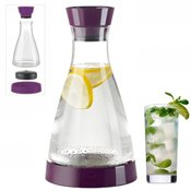 Carafe fraicheur Flow Friends 1L mûre