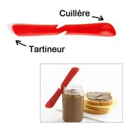 Tartineur double rouge
