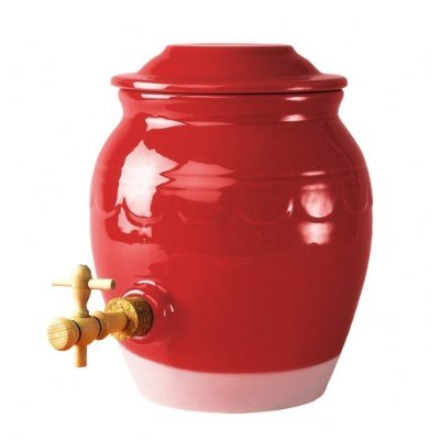 Vinaigrier rouge cerise emile henry kookit accessoires - Stickers pour cuisine rouge ...