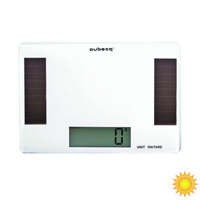 Balance de cuisine solaire 5kg aubecq kookit - Balance cuisine solaire ...
