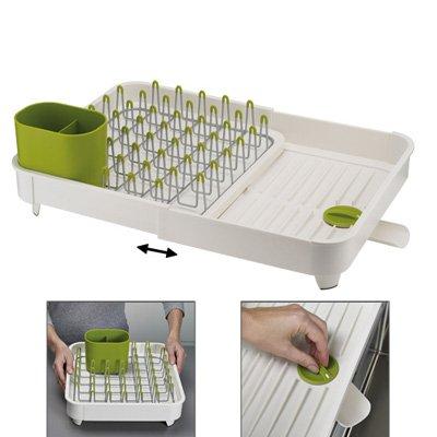 egouttoir extensible extend blanc vert joseph joseph. Black Bedroom Furniture Sets. Home Design Ideas