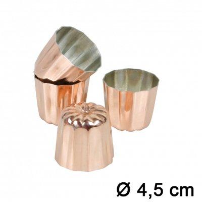 moule cannel bordelais cuivre 4 5 cm x4 chevalier. Black Bedroom Furniture Sets. Home Design Ideas