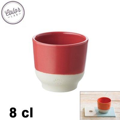 tasse caf color lab 8cl rouge revol kookit. Black Bedroom Furniture Sets. Home Design Ideas