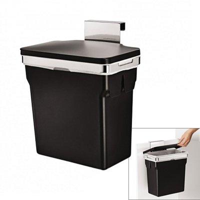 poubelle de placard 10l plastique simplehuman kookit. Black Bedroom Furniture Sets. Home Design Ideas